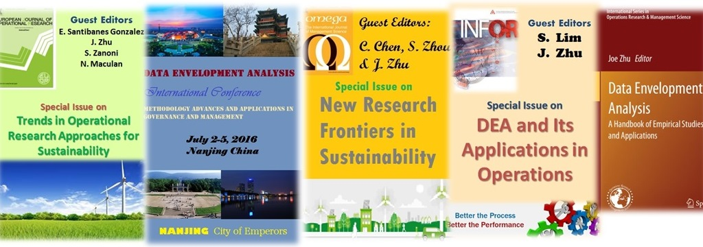 Data Envelopment Analysis: Dr  Joe Zhu's Research on DEA